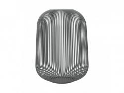 Lucerna Lito Blomus velká ocelově šedá