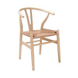 HUG BACK Židle s rafiovým sedákem