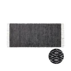 ETHNO LODGE Běhoun 140 x 70 cm - černá/přírodní