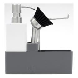 ZONE Keramická sada na mytí nádobí grey