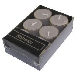 Sada 12 šedohnědých čajových svíček Ego Dekor Silea,doba hoření4h