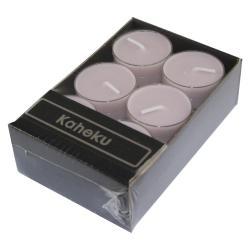 Sada 12 růžových čajových svíček Ego Dekor Silea,doba hoření4h