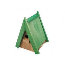 Dřevěná ptačí budka Sýkorník Č.3, 24 x 18,5 x 16,5 cm