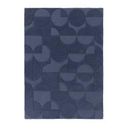 Modrý vlněný koberec Flair Rugs Gigi, 200 x 290 cm