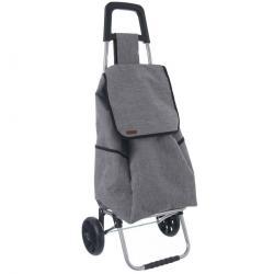 Orion Nákupní taška na kolečkách Styl šedá, 30 x 22 x 53 cm