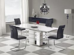 Halmar Rozkládací jídelní stůl LORD, bílý