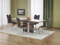 Halmar Rozkládací jídelní stůl LORD, světle šedá/tmavě šedá