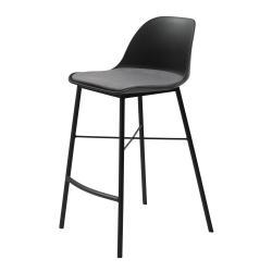 Černá barová židle Unique Furniture Whistler