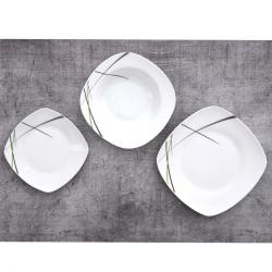 Orion Sada jídelní porc. GREEM 18 ks hranatá