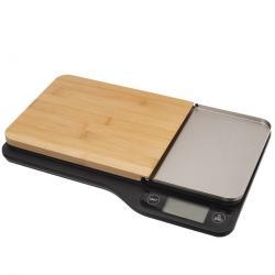 Orion Váha kuch. digit. bambus 5 kg+krájecí prkénko