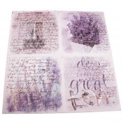 Obraz na plátně s levandulí Great Love, 60 x 60 cm