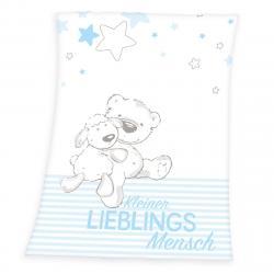 Herding Deka Kleiner Lieblings modrá, 75 x 100 cm