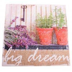Obraz na plátně s levandulí Big Dream, 28 x 28 cm