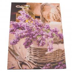 Obraz na plátně Zátiší s levandulí, 30 x 40 cm