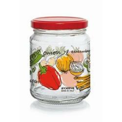 Zavařovací sklenice s víčkem ZELENINA 200 ml, 6 ks