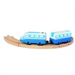 Bino Osobní vlak na baterie, 24,5 cm