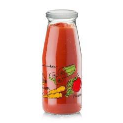 Skleněná láhev s víčkem ZELENINA 0,5 l, 6 ks