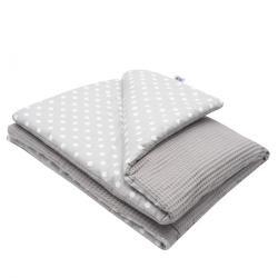 New Baby Dětská deka Vafle puntíky, 80 x 102 cm