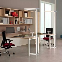 G & L HANDELS GMBH LED stojací lampa Office up/down 4000K stmívací