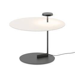 Vibia Vibia Flat LED podlahová lampa 43 cm bílá, stmívač
