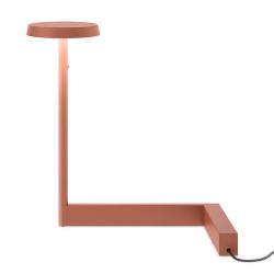 Vibia Vibia Flat LED stolní lampa výška 30 cm terakota