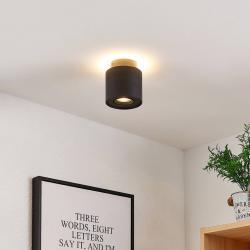Arcchio Arcchio Walisa LED stropní světlo, kulaté, černé