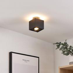 Arcchio Arcchio Walisa LED stropní světlo, hranaté, černé