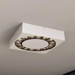 Lucande Lucande Kelissa LED venkovní světlo bílé hranaté