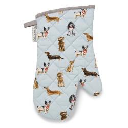 Bavlněná kuchyňská rukavice Cooksmart ® Curious Dogs