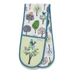 Dvojitá bavlněná chňapka Cooksmart ® Forest Birds