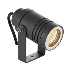 Lucande Venkovní osvětlení Galina, kolík, tmavě šedé 10 cm