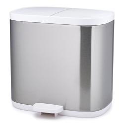 Dvojitý odpadkový koš do koupelny Split™ nerez Joseph Joseph