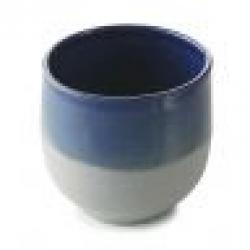 Hrnek bez ouška No.W Revol modrý glazovaný 200 ml