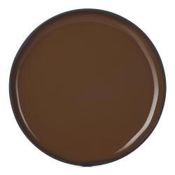 Snídaňový talíř hnědý Tonka CARACTERE REVOL