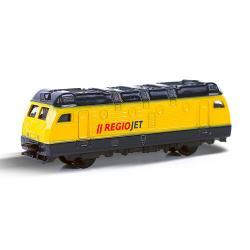 Rappa Kovová lokomotiva RegioJet, 9 cm