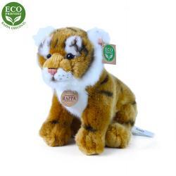 Rappa Plyšový sedící tygr, 25 cm