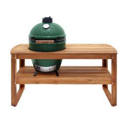 Dřevěný stůl pro gril L Big Green Egg