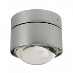 Top Light LED stropní světlo Puk Outdoor Plus, chrom matný