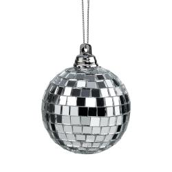 MINI DISCO Disko koule 5 cm set 4 ks - stříbrná
