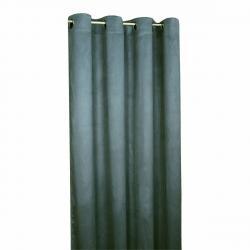 Forbyt Zatemňovací závěs Suedine modrá, 140 x 240 cm, sada 2 ks