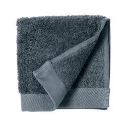 Modrý ručník z froté bavlny Södahl China, 30 x 30 cm