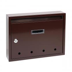 Poštovní ocelová schránka BK.24.D.H