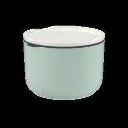 Villeroy & Boch Like To Go & To Stay svačinový a obědový box, Ø 13 cm, zelený, 0,73 l