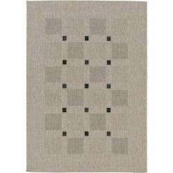 Spoltex Kusový koberec Floorlux PP 20329/04 silver-black