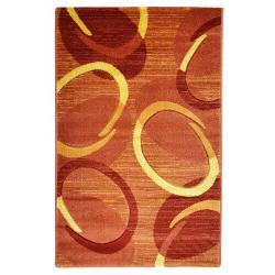 Spoltex Kusový koberec Florida 9828/05 orange, 160 x 230 cm
