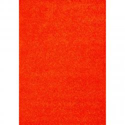 Spoltex Kusový koberec Efor Shaggy 3419 orange, 120 x 170 cm