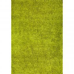 Spoltex Kusový koberec Efor Shaggy 1903 green, 80 x 150 cm