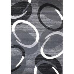 Spoltex Kusový koberec Florida 9828/04 grey, 80 x 150 cm