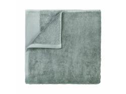 Osuška do sauny Riva Blomus šedá 100x200 cm
