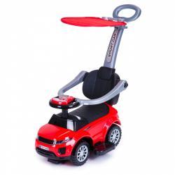 MULTISTORE Jezdítko auto 3v1 Super Car červené